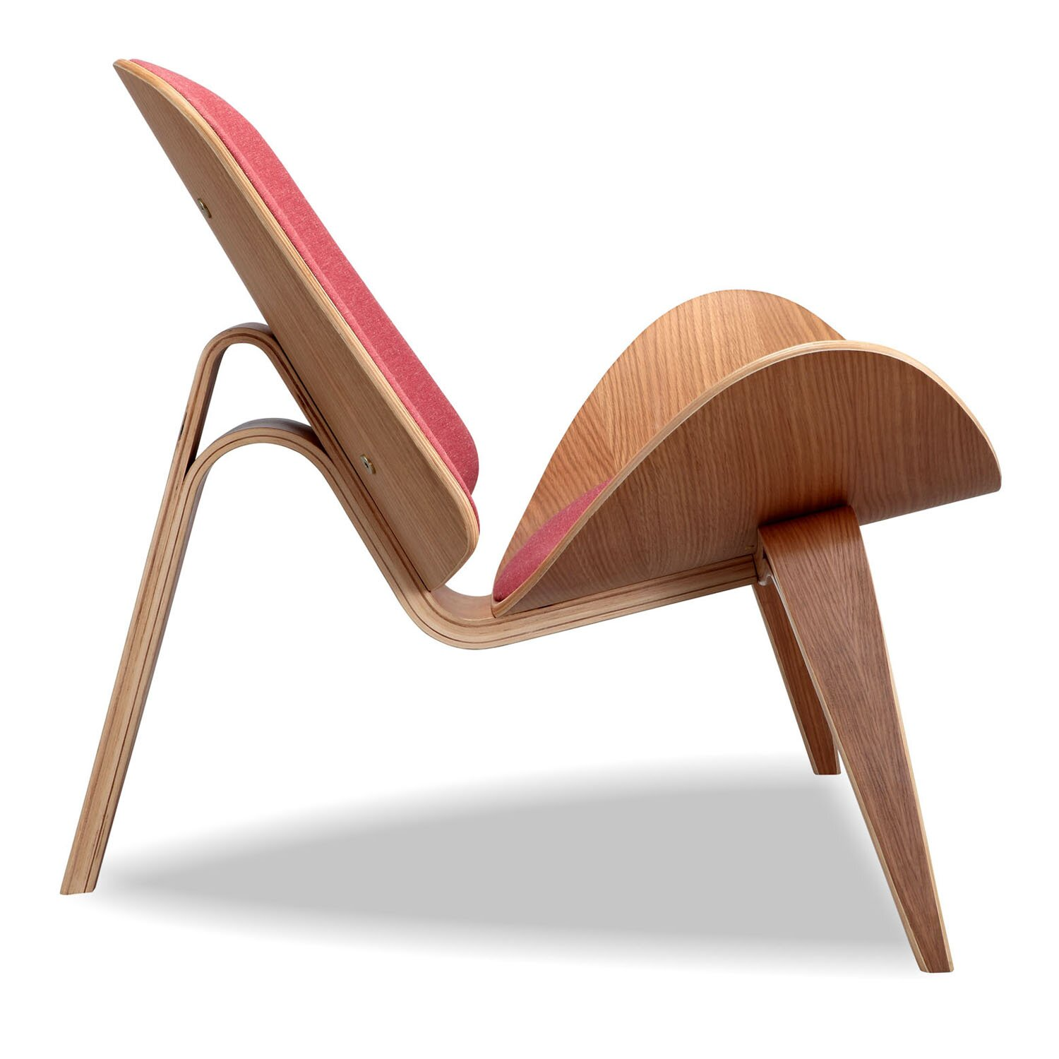 Kar l Tripod Plywood Modern Lounge Chair & Reviews