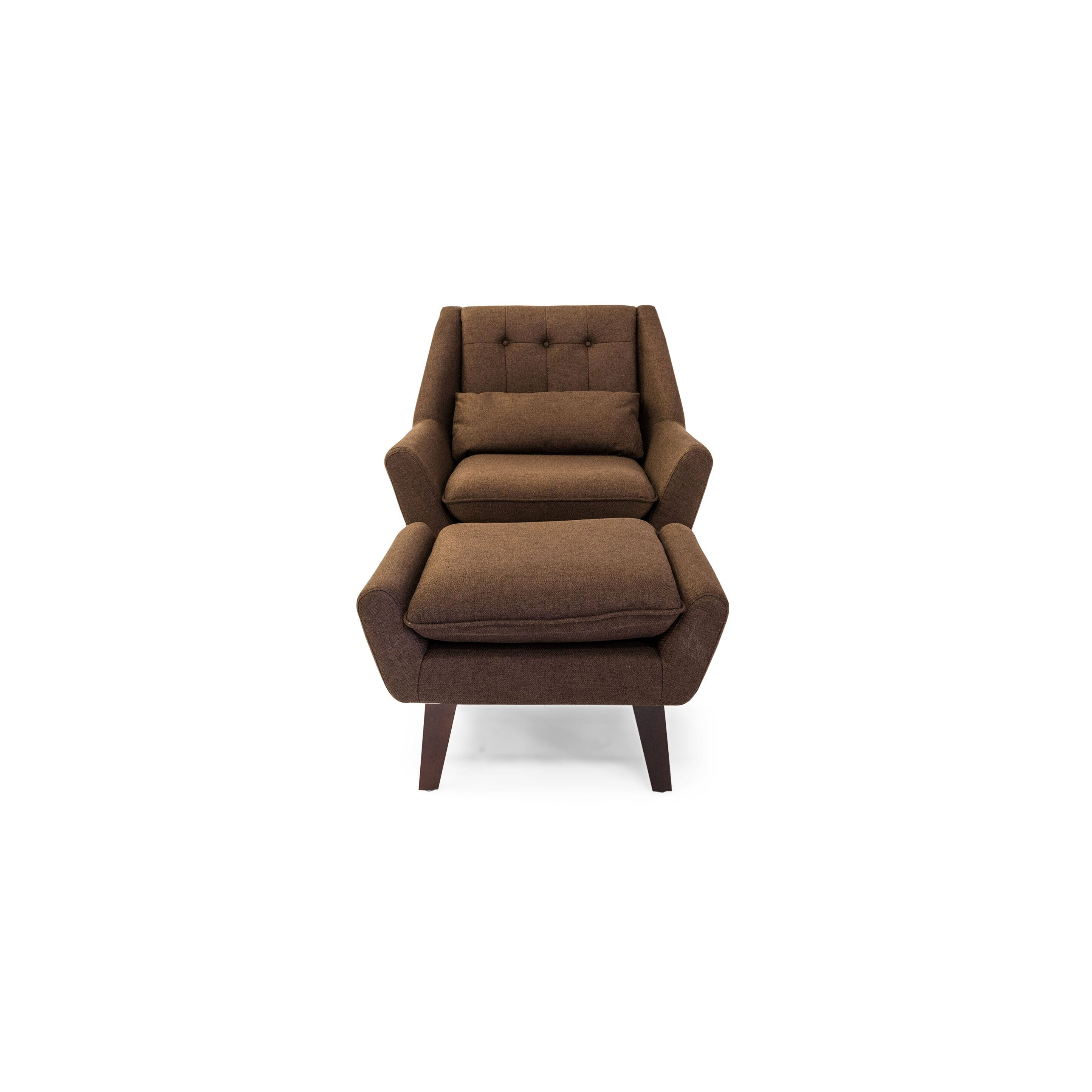Kar l Stuart Lounge Chair and Ottoman