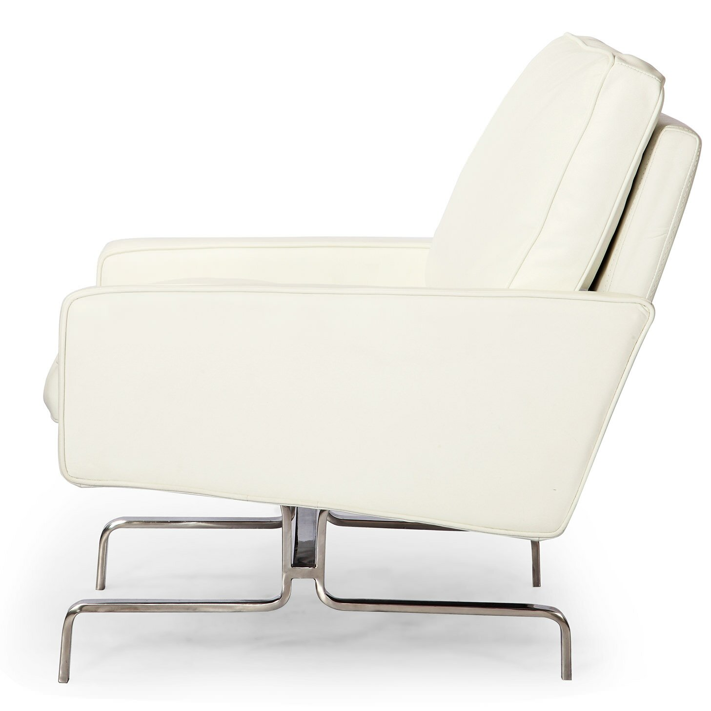 Kardiel modern arm chair wayfair supply for Modern arm chair