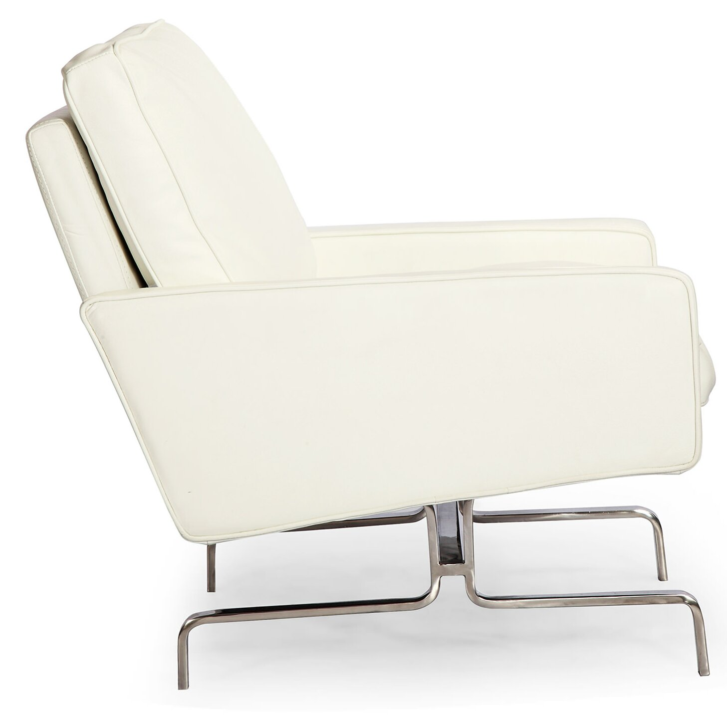 Kardiel modern arm chair wayfair for Contemporary armchair