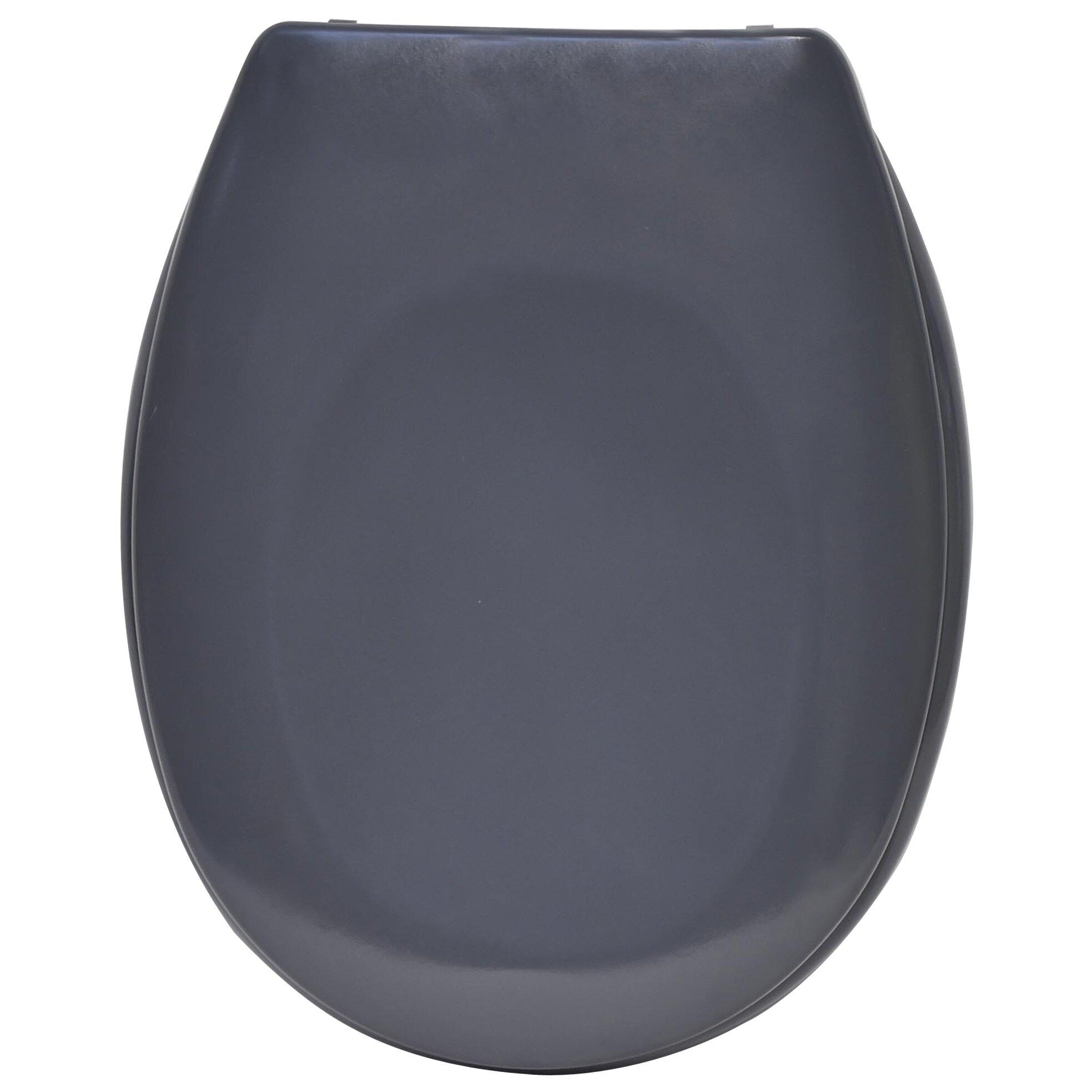 Evideco Slow Close Quiet Elongated Toilet Seat Wayfair