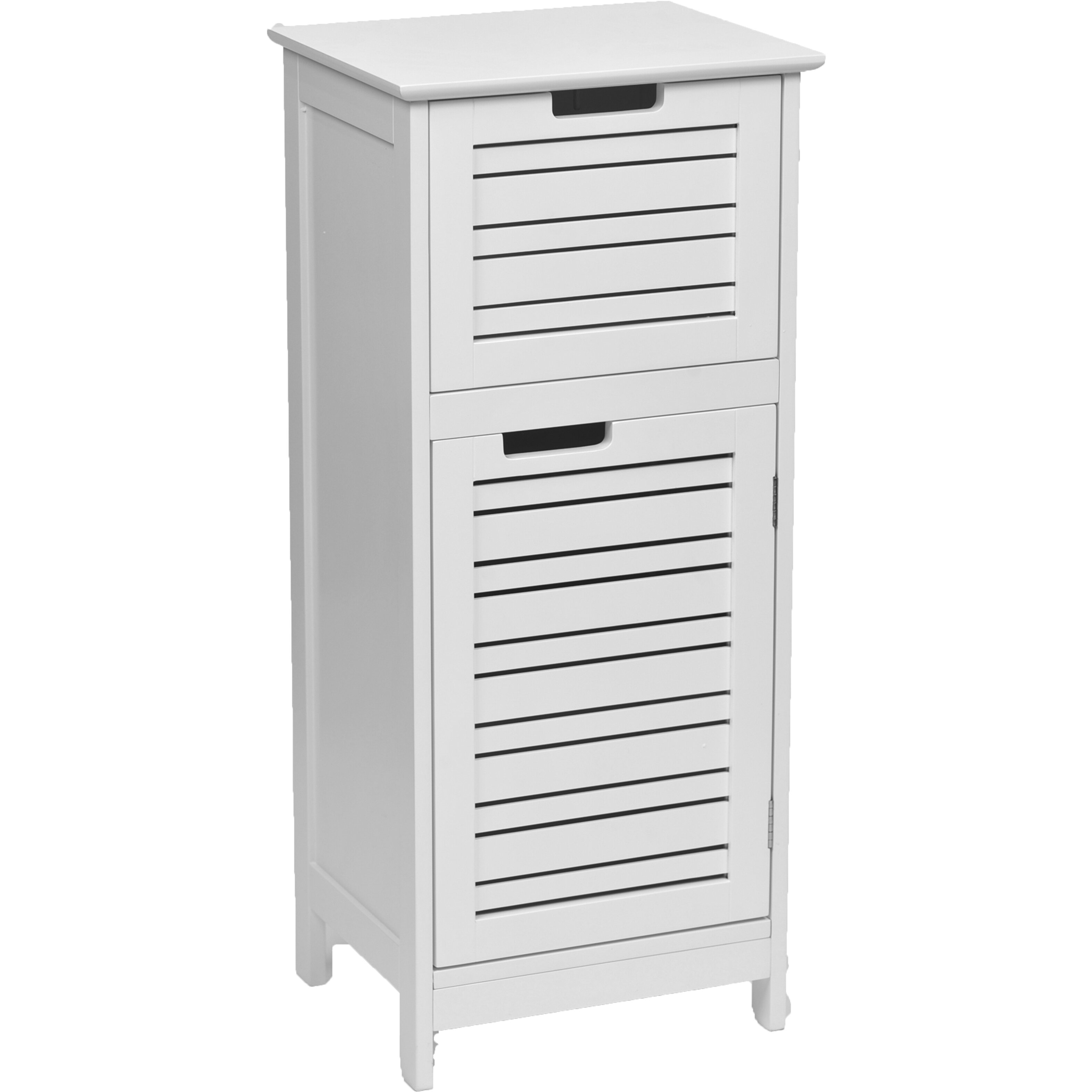 Evideco miami 14 4 x 32 7 free standing cabinet wayfair for Wayfair kitchen cabinets