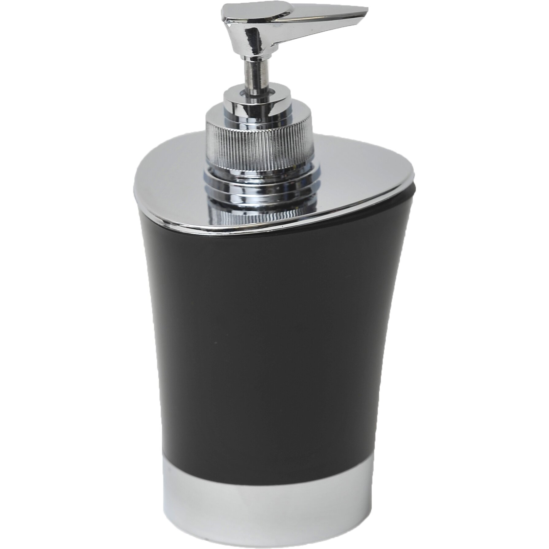 evideco bathroom soap and lotion dispenser reviews wayfair. Black Bedroom Furniture Sets. Home Design Ideas