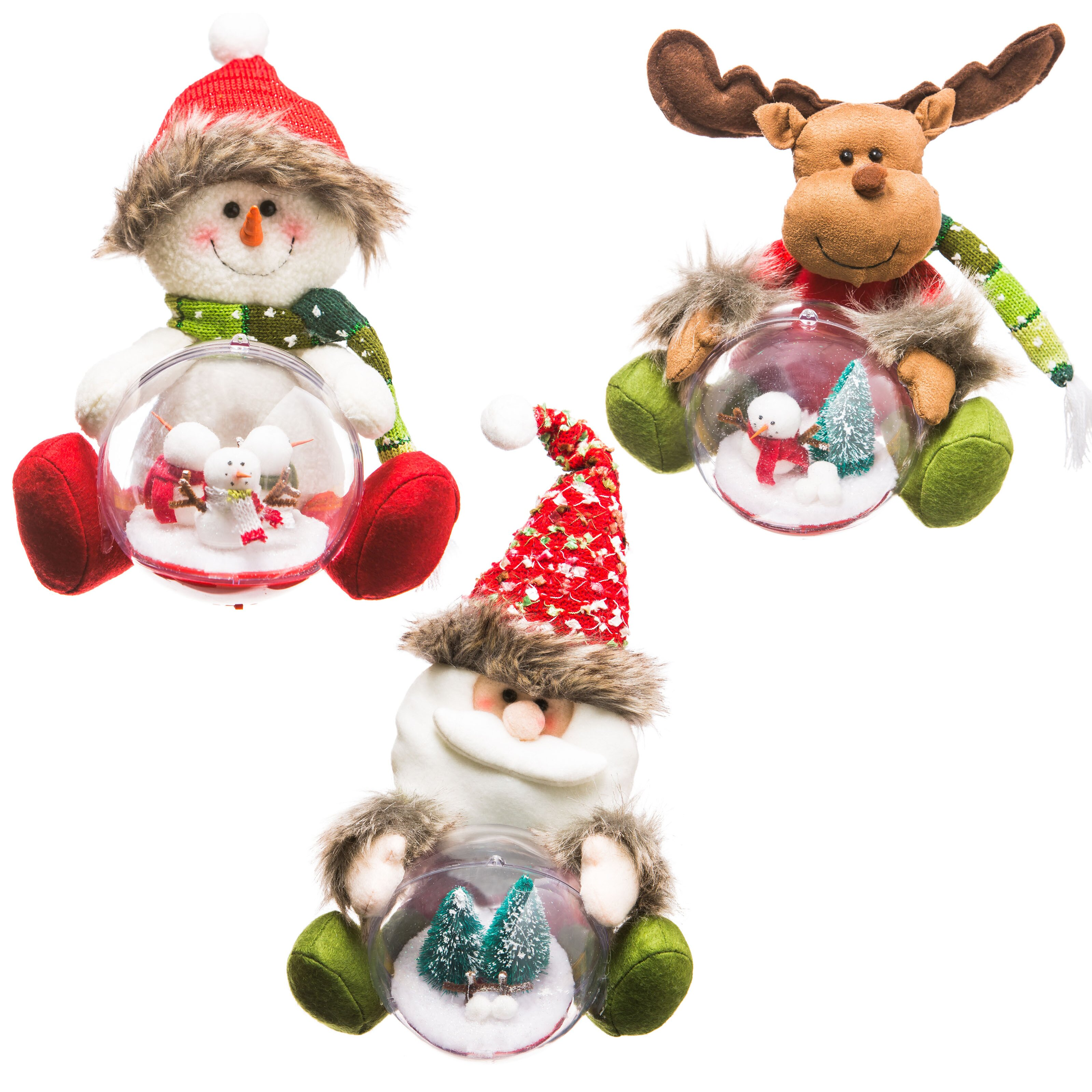 The holiday aisle 3 piece alpine christmas characters for Alpine decoration