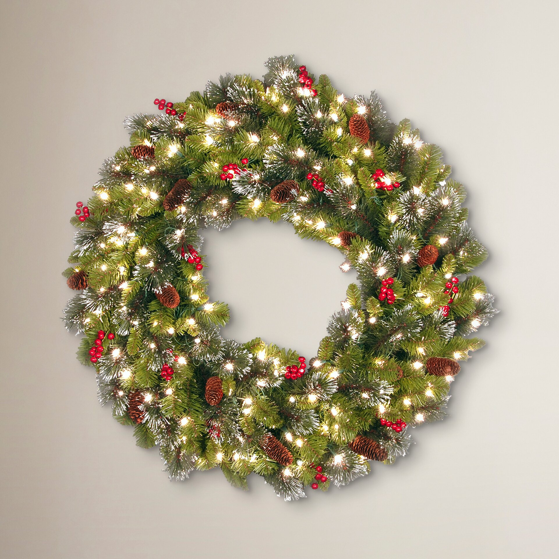 28 best lighted wreath how to make a large lighted for Led wreath outdoor