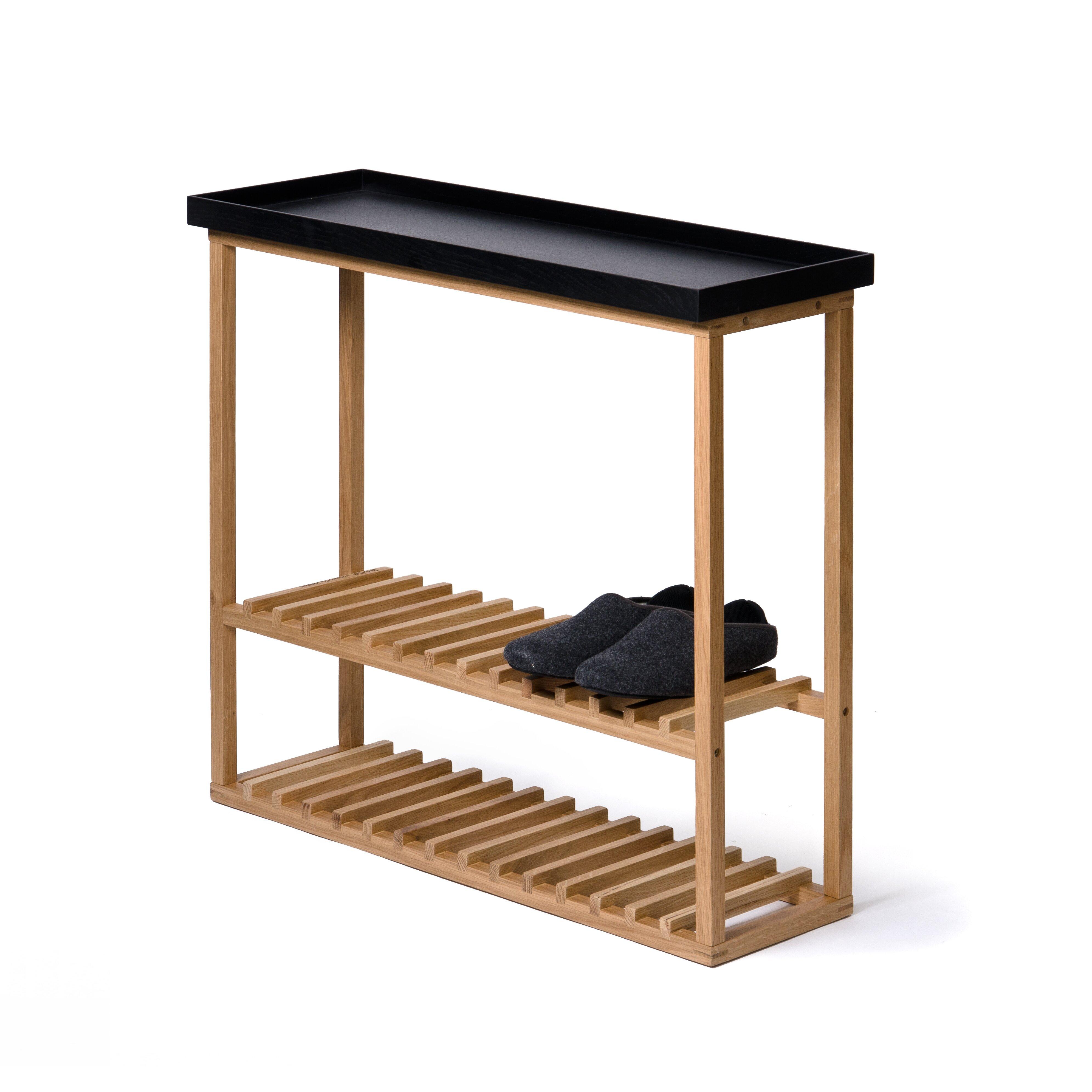 Belfry phillipa shoe storage table reviews wayfair uk - Small storage table for bathroom ...