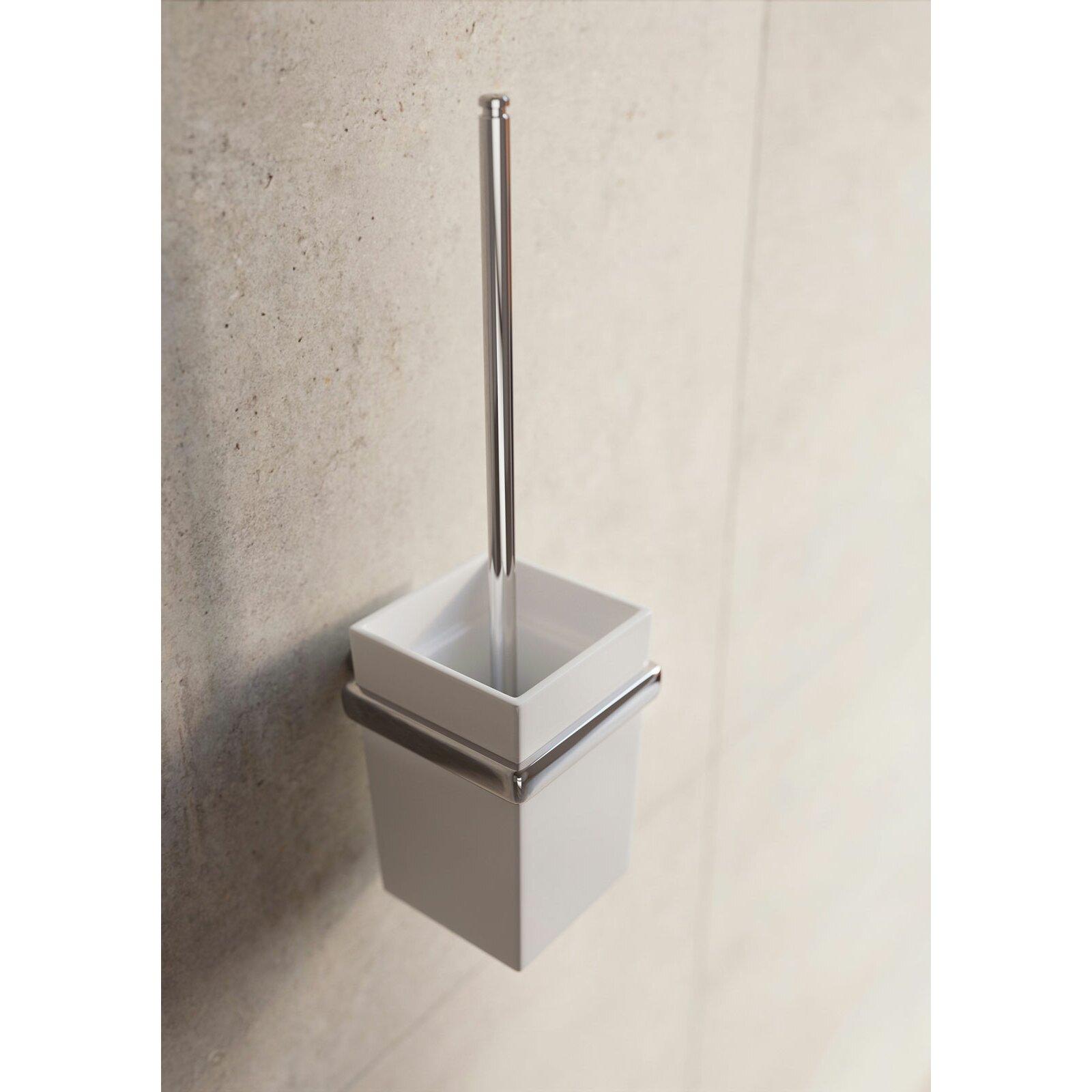 Belfry Wandmontiertes Toilettenb Rsten Set Cruz