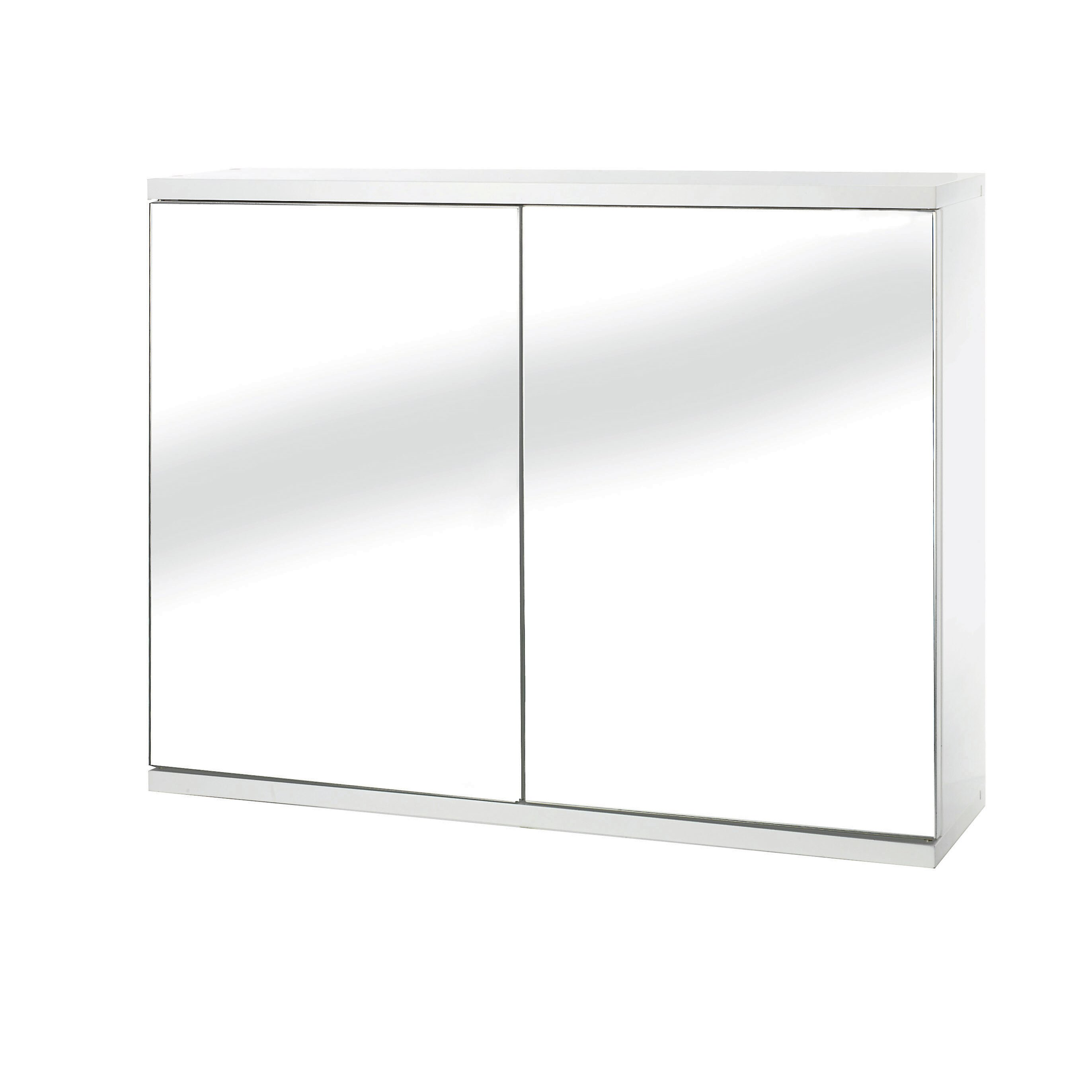 Belfry simplicity 60cm x 45cm surface mount mirror cabinet for Bathroom cabinets 60cm