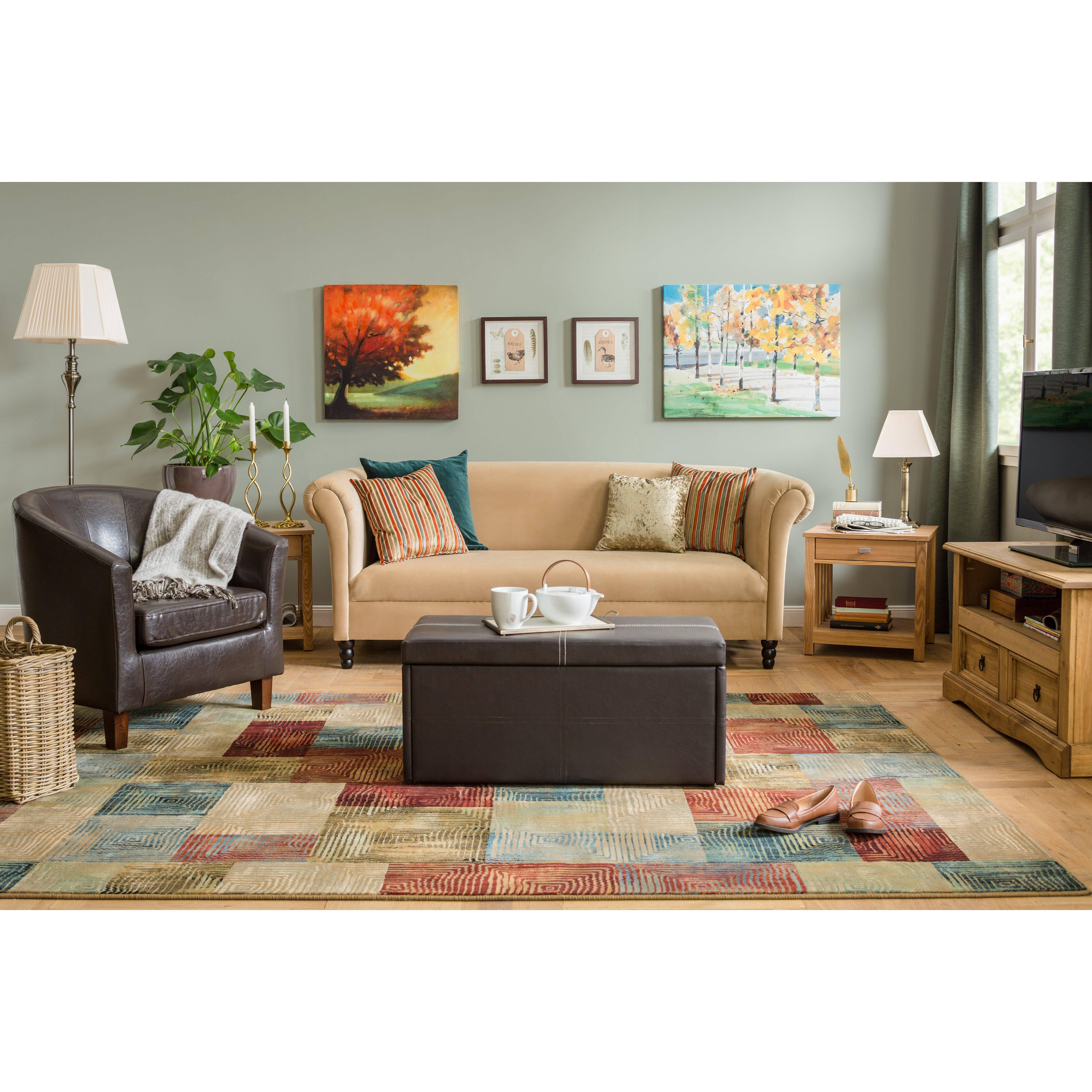 andover mills urbank multi coloured area rug reviews. Black Bedroom Furniture Sets. Home Design Ideas