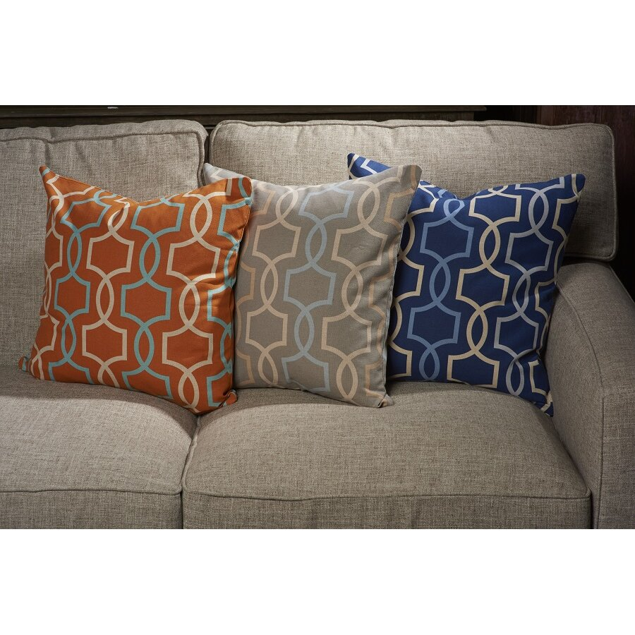 Unique Decorative Pillows For Couch : Vesper Lane Angola Designer Filled Throw Pillow & Reviews Wayfair