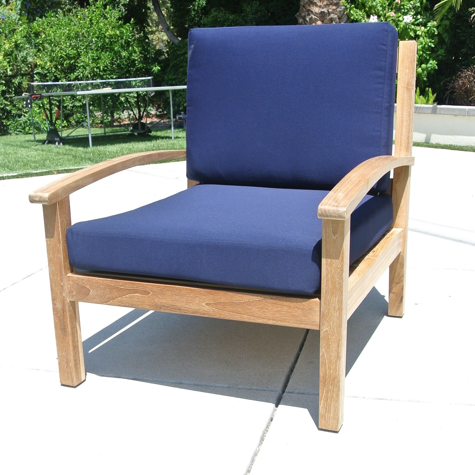 Willow creek designs outdoor sunbrella lounge chair for Willow creek designs