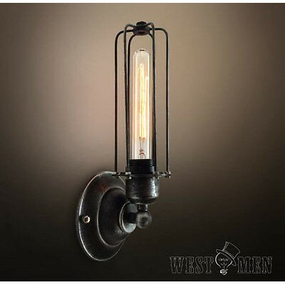 Wall Sconces No Wiring : Westmen Lights 1 Light Wire Cage Wall Sconce & Reviews Wayfair