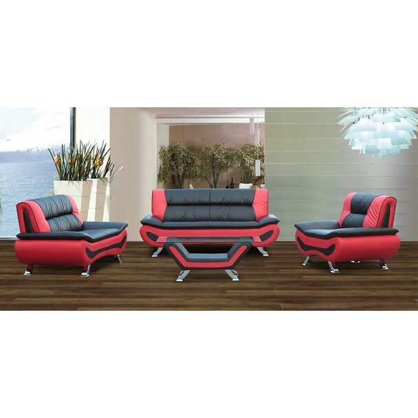 Living in style austin 4 piece living room set reviews for 4 piece living room set