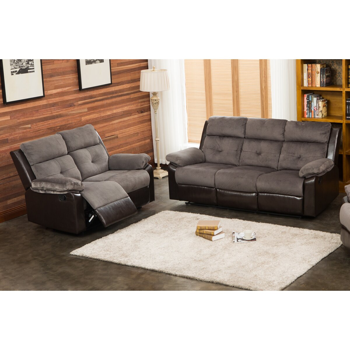 Living in style sherry 2 piece living room set wayfair for 2 piece living room set