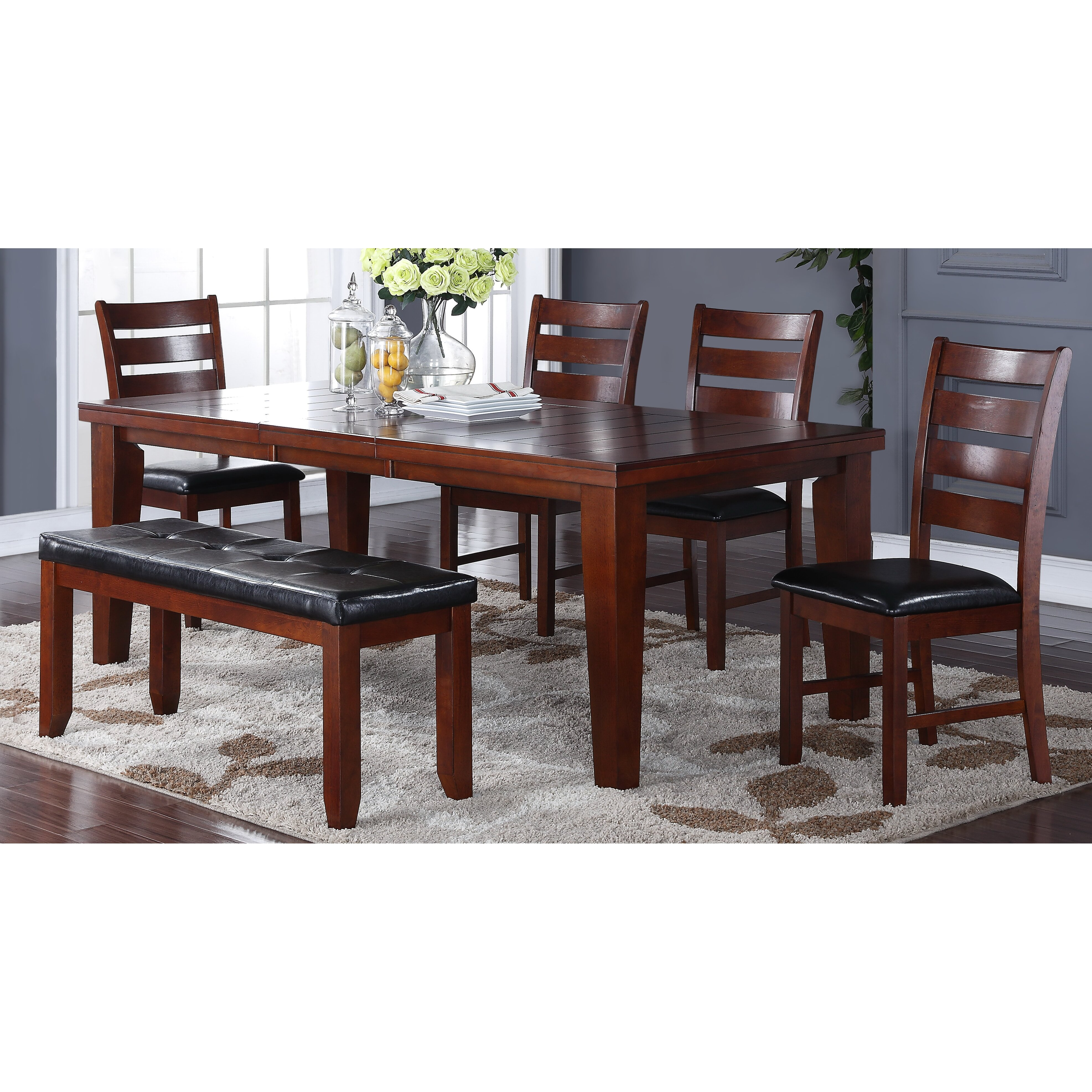 Living in style 6 piece dining set wayfair for 6 piece living room set