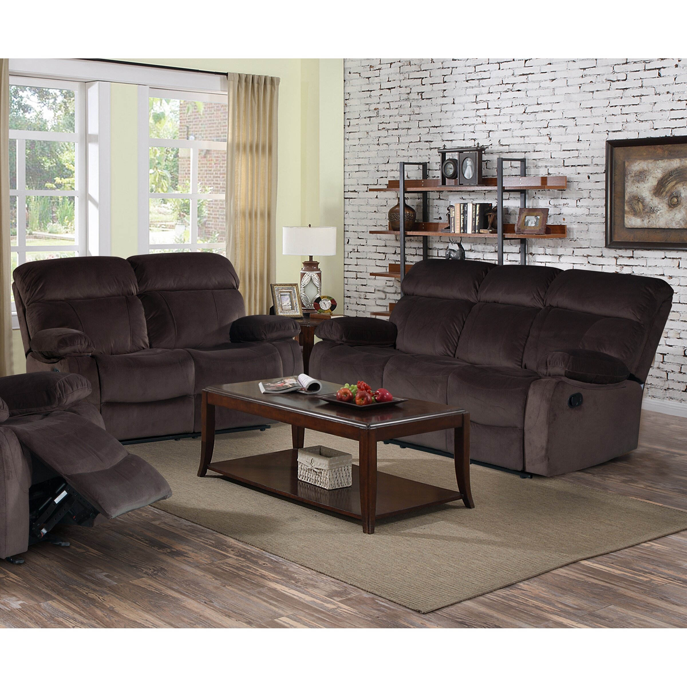 Living in style alvia 2 piece living room set wayfair for 2 piece living room set