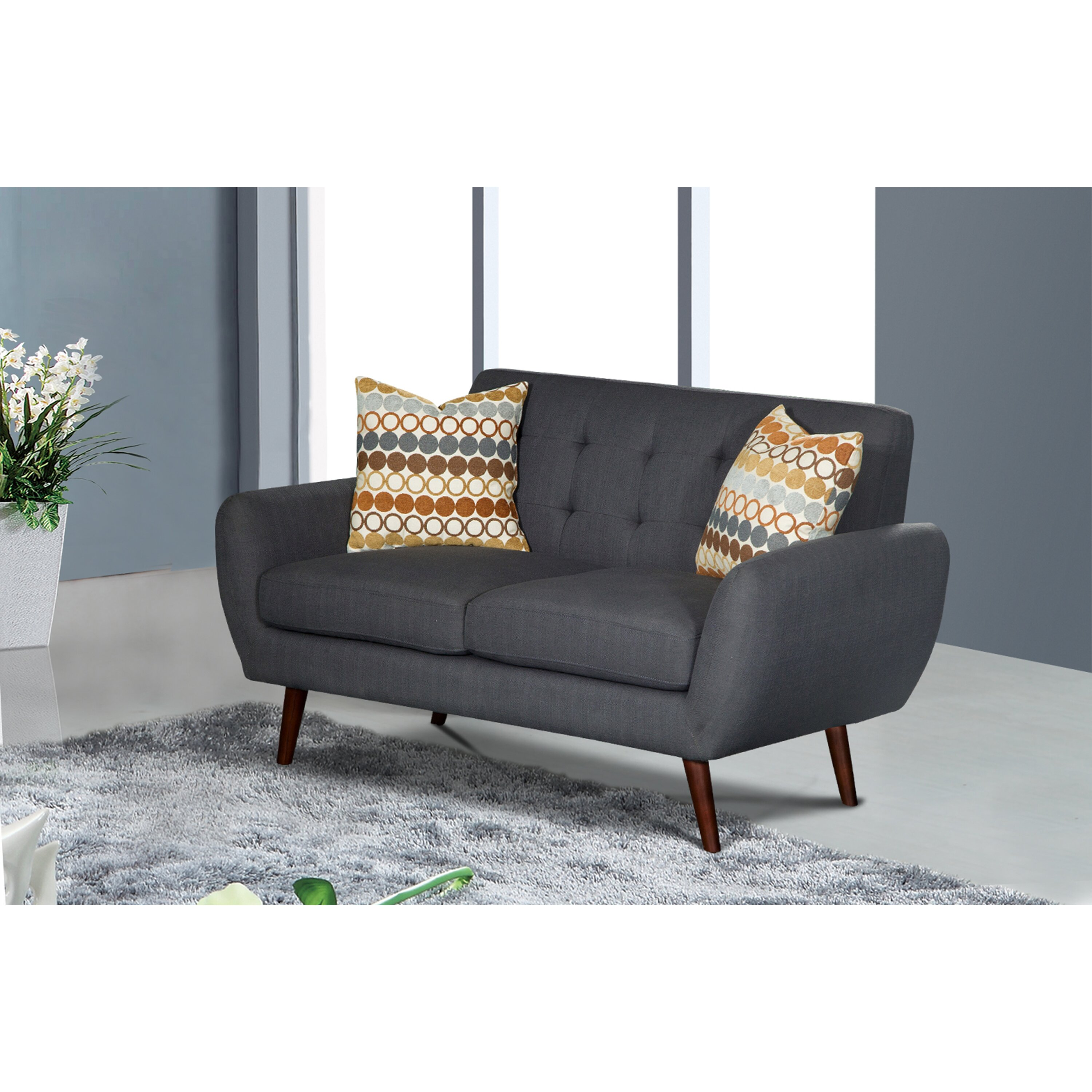 Living in style keira 2 piece living room set wayfair for 2 piece living room set