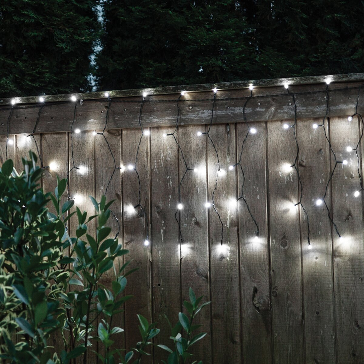Solar Curtain String Lights : Touch of ECO Droplite 100 Solar Curtain String Lights & Reviews Wayfair