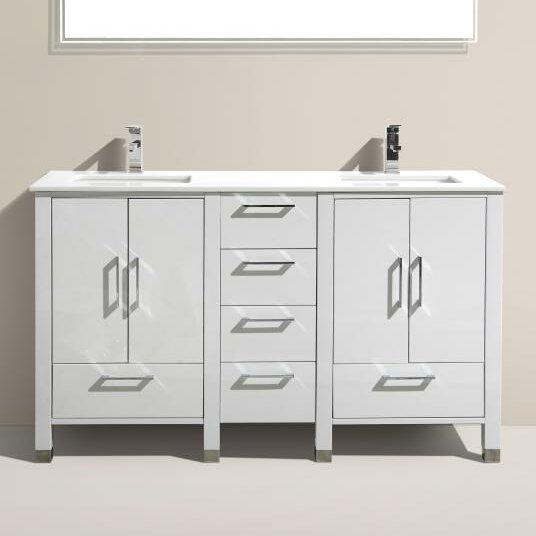 Kube Bath Anziano 60 Double Bathroom Vanity Set Wayfair