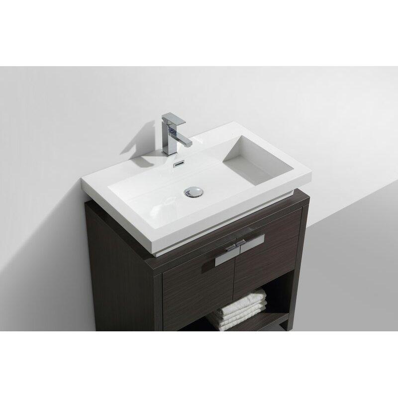 Kube Bath Levi 29 5 Single Modern Bathroom Vanity Set Reviews