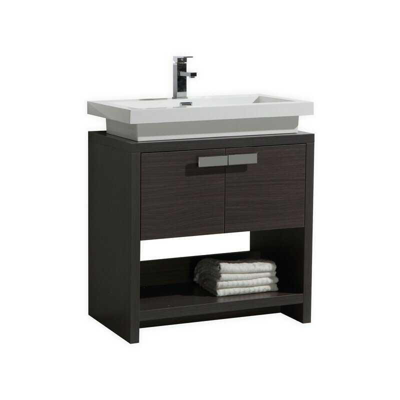 Kube Bath Levi 29 5 Single Modern Bathroom Vanity Set