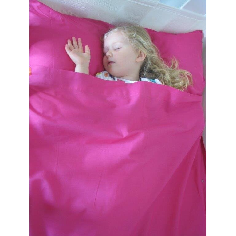 KIds Zip Sheets 3 Piece Cotton Toddler Sheet Set