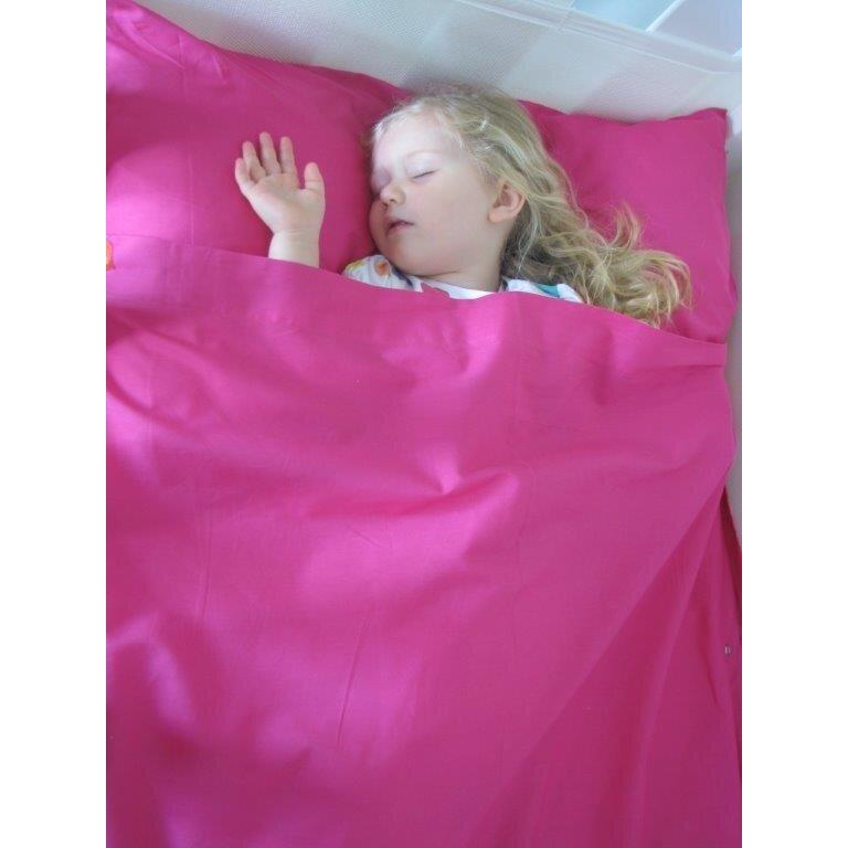 KIds Zip Sheets 3 Piece Cotton Toddler Sheet Set