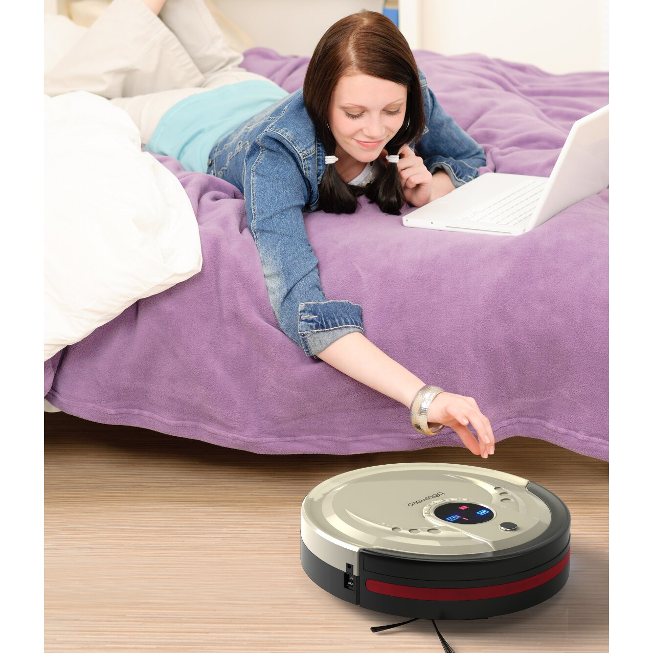 Bobsweep Standard Robotic Vacuum Cleaner And Mop Amp Reviews