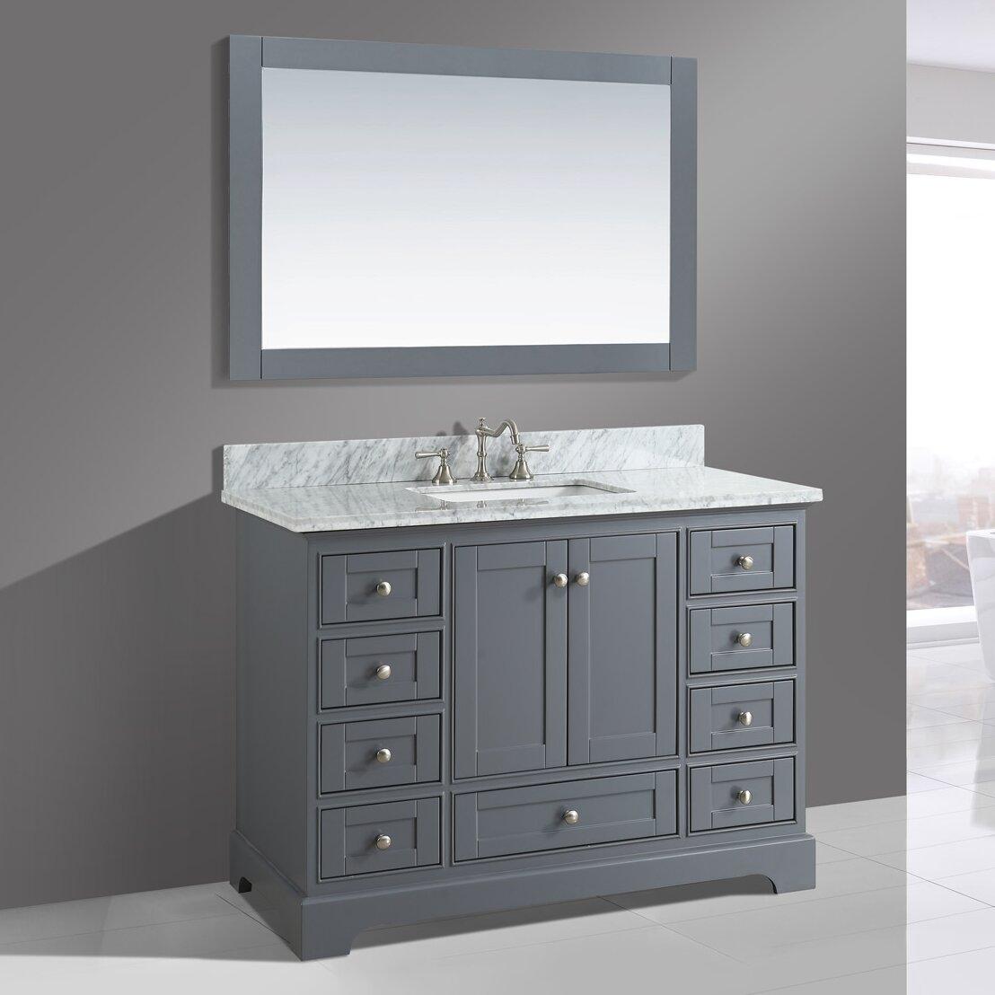 """Urban Furnishings Jocelyn 48"""" Bathroom Sink Vanity Set"""