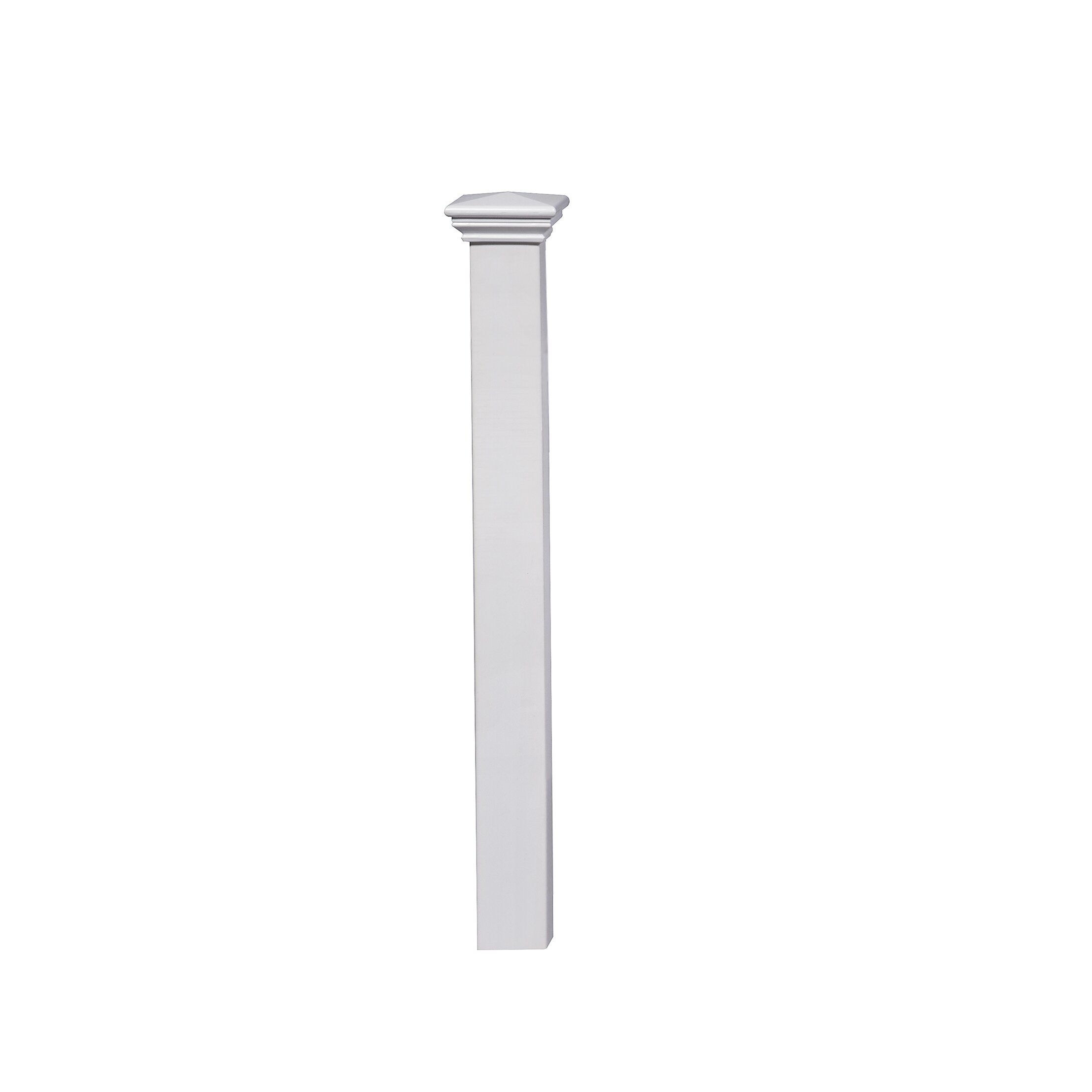 Zippity outdoor products newport vinyl fence post kit reviews wayfair - Vinyl railing reviews ...