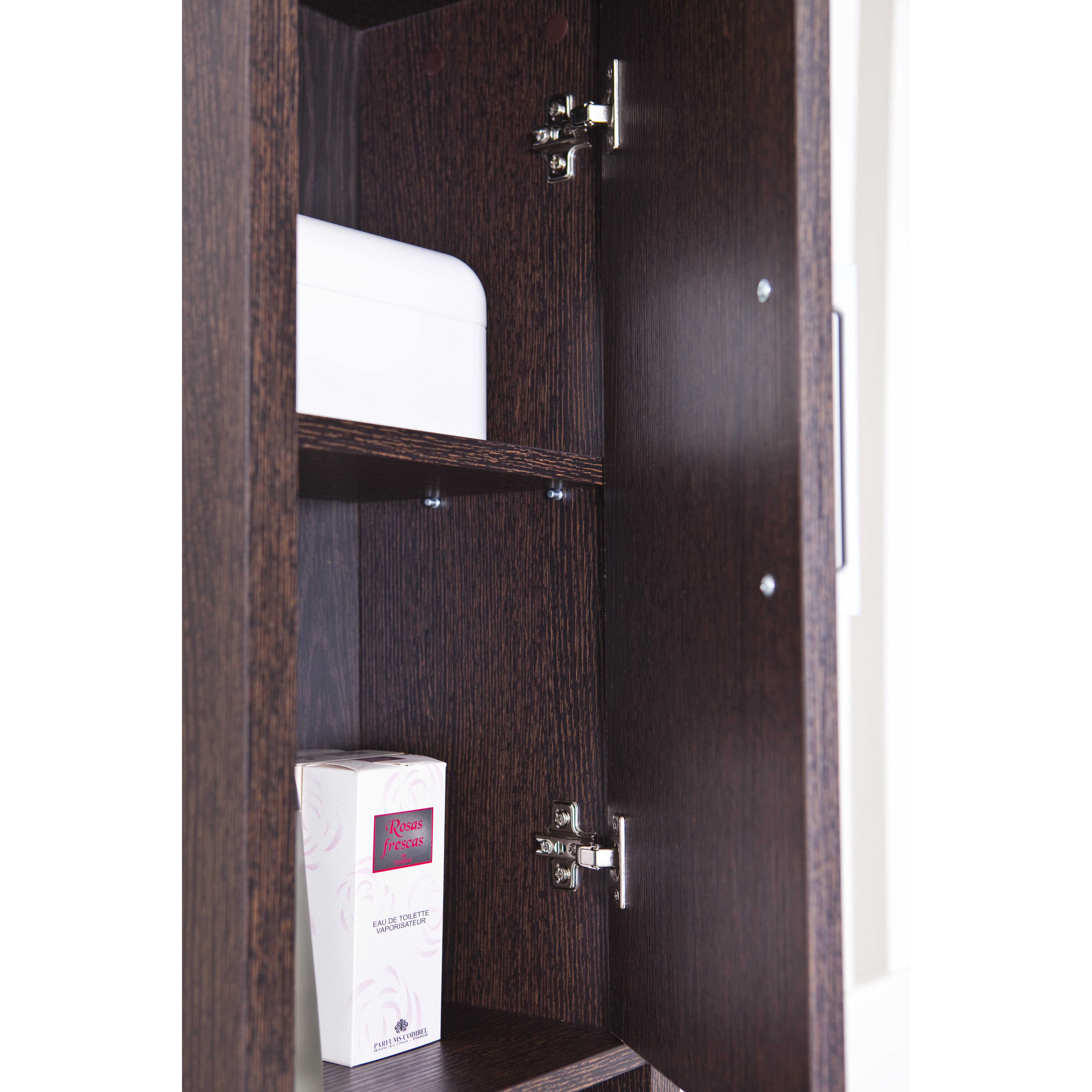 Hokku Designs Galveston 34 x 194cm Free Standing Tall Bathroom Cabinet