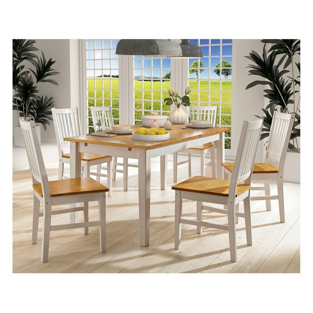 Hokku designs dakota extendable dining table wayfair uk for Hokku designs dining room furniture