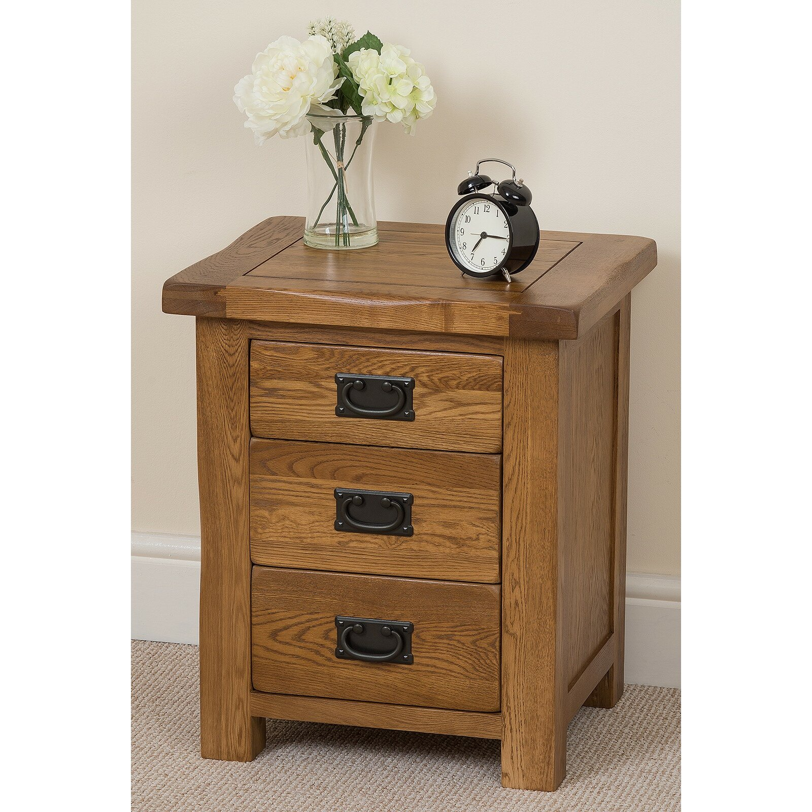 hokku designs cotswold 3 drawer bedside table wayfair uk. Black Bedroom Furniture Sets. Home Design Ideas