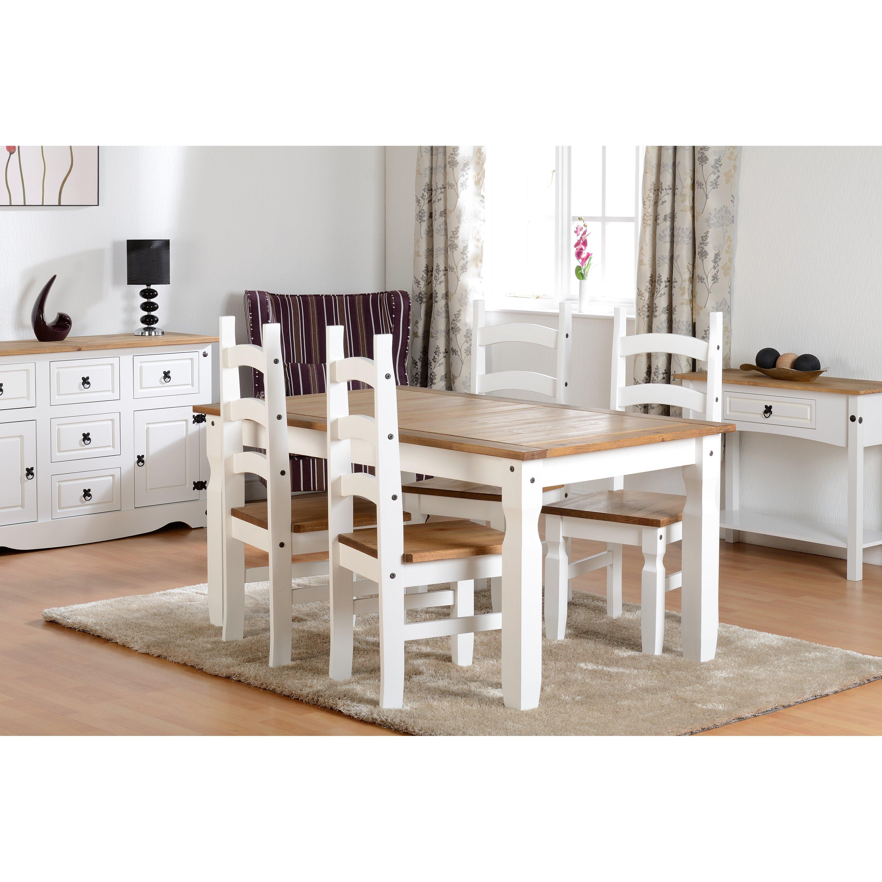 home loft concept 5 tlg essgruppe angelina bewertungen. Black Bedroom Furniture Sets. Home Design Ideas