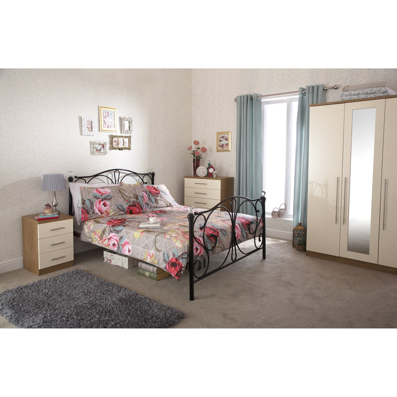 home loft concept pippin bed frame reviews wayfair uk. Black Bedroom Furniture Sets. Home Design Ideas