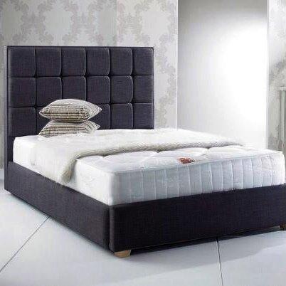 Home loft concept gador upholstered bed frame reviews for Home loft concept bunk bed
