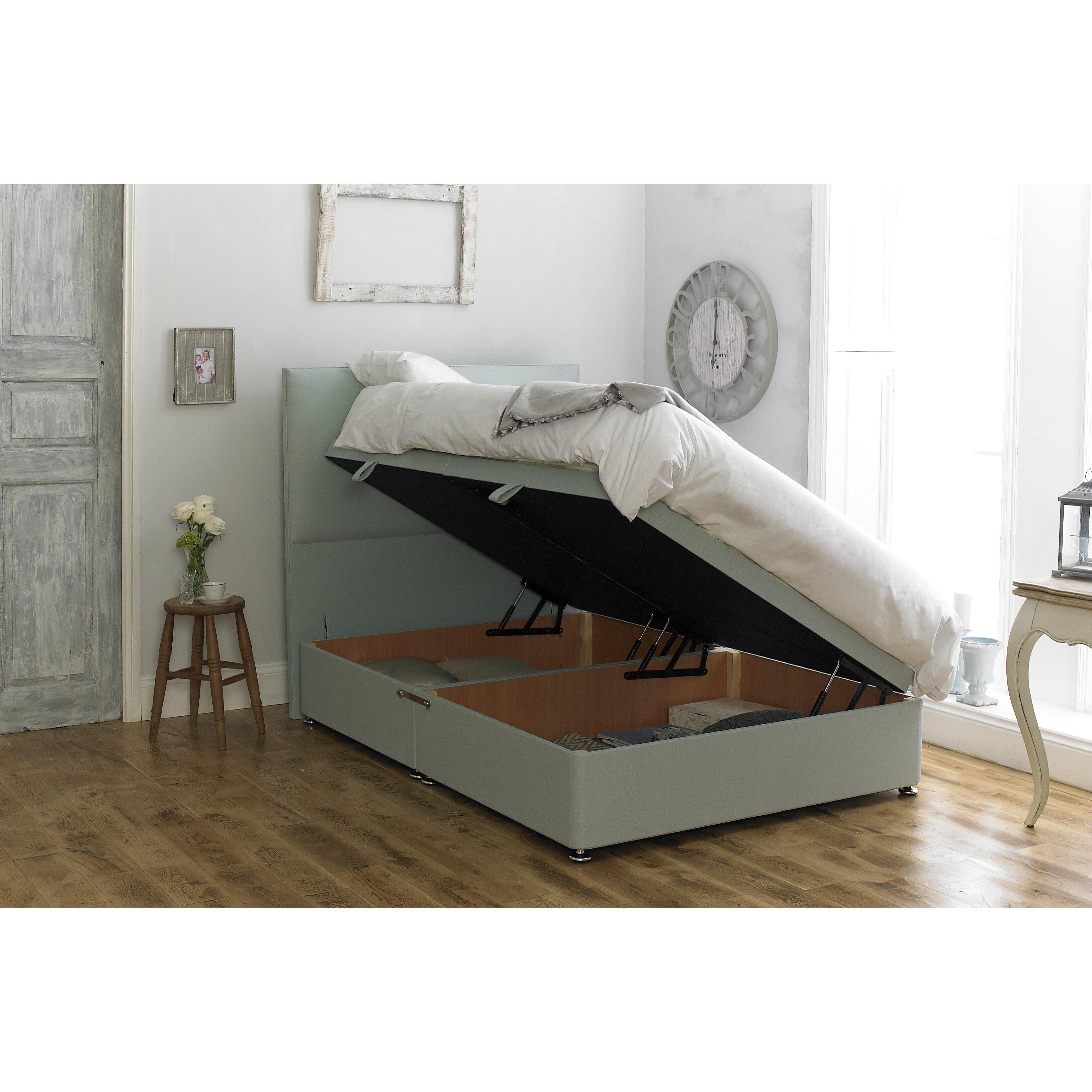 Home loft concept tarifa storage divan base wayfair uk for 2 6 divan with storage