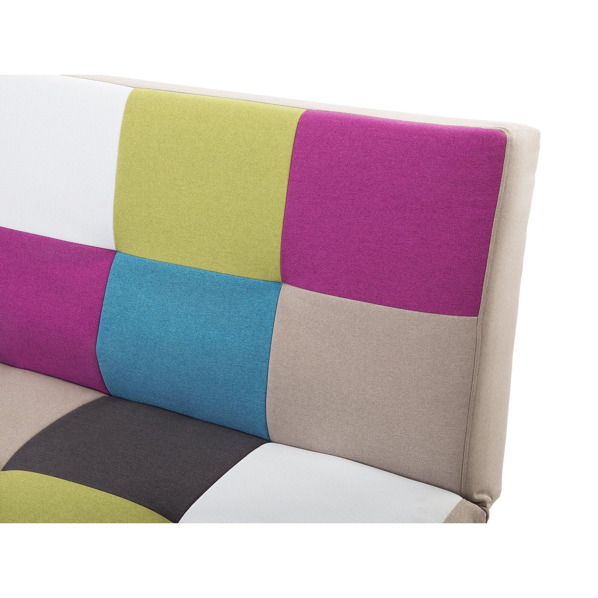 Home loft concept leo 3 seater clic clac sofa bed wayfair uk - Clic clac housse ...