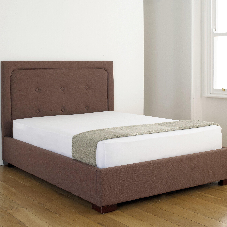Home loft concept anzur upholstered storage bed frame for Home loft concept bunk bed