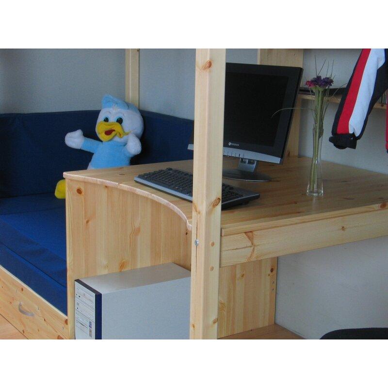 hochbett mit couch hochbett mit sofa und schreibtisch bestellen kids town hochbett mit sofa. Black Bedroom Furniture Sets. Home Design Ideas
