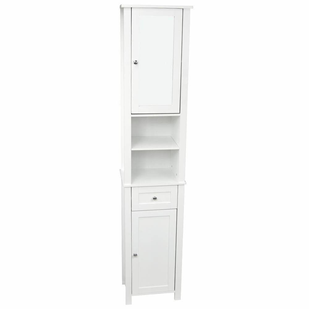 freestanding tall bathroom cabinet wildon home vida 40 x 190cm mirrored free standing 18433