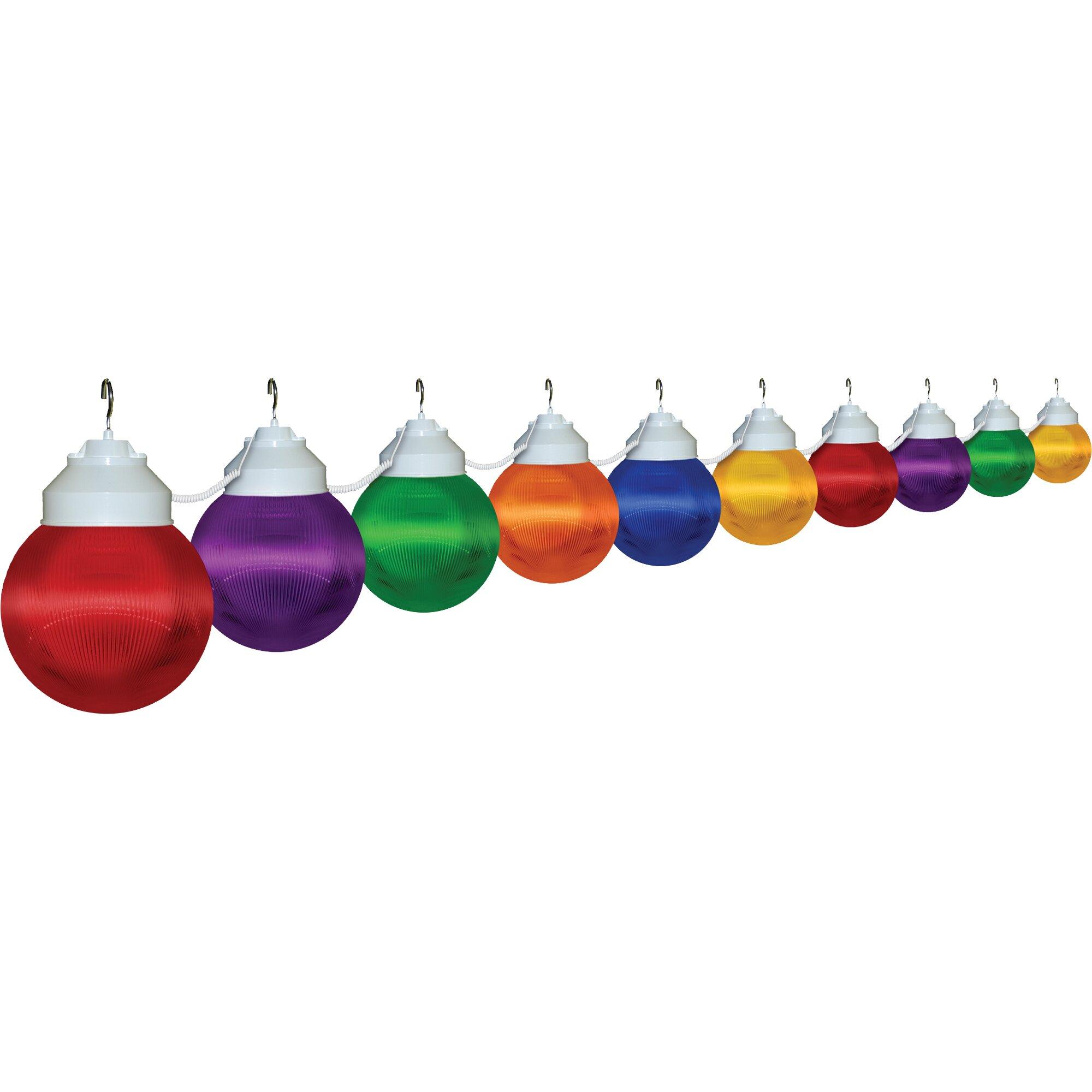 String Globe Lights Aus : PolymerProducts 10-Light Globe String Lights Wayfair.ca