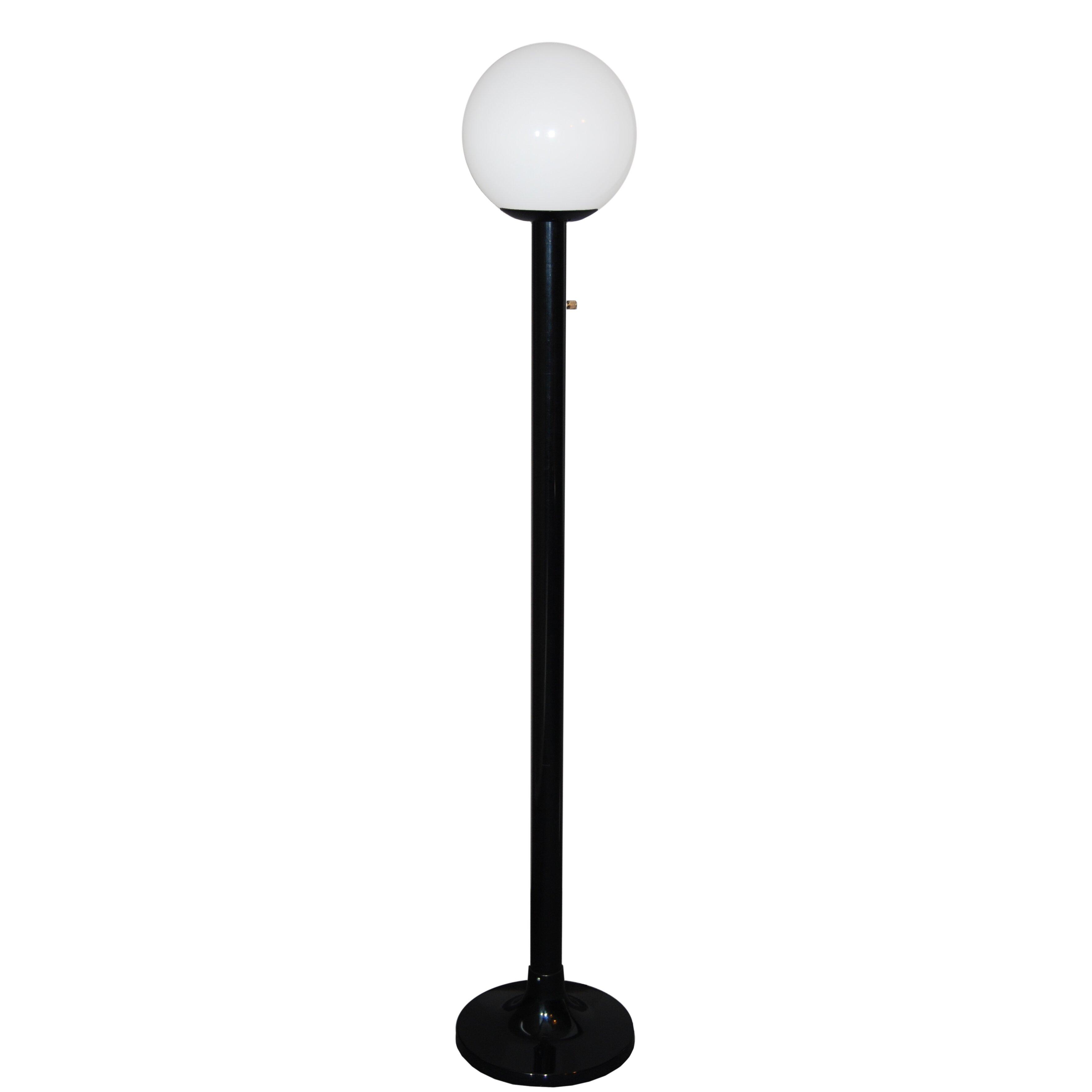 Polymerproducts single globe luminaire 79 39 39 post lantern for Globe luminaire