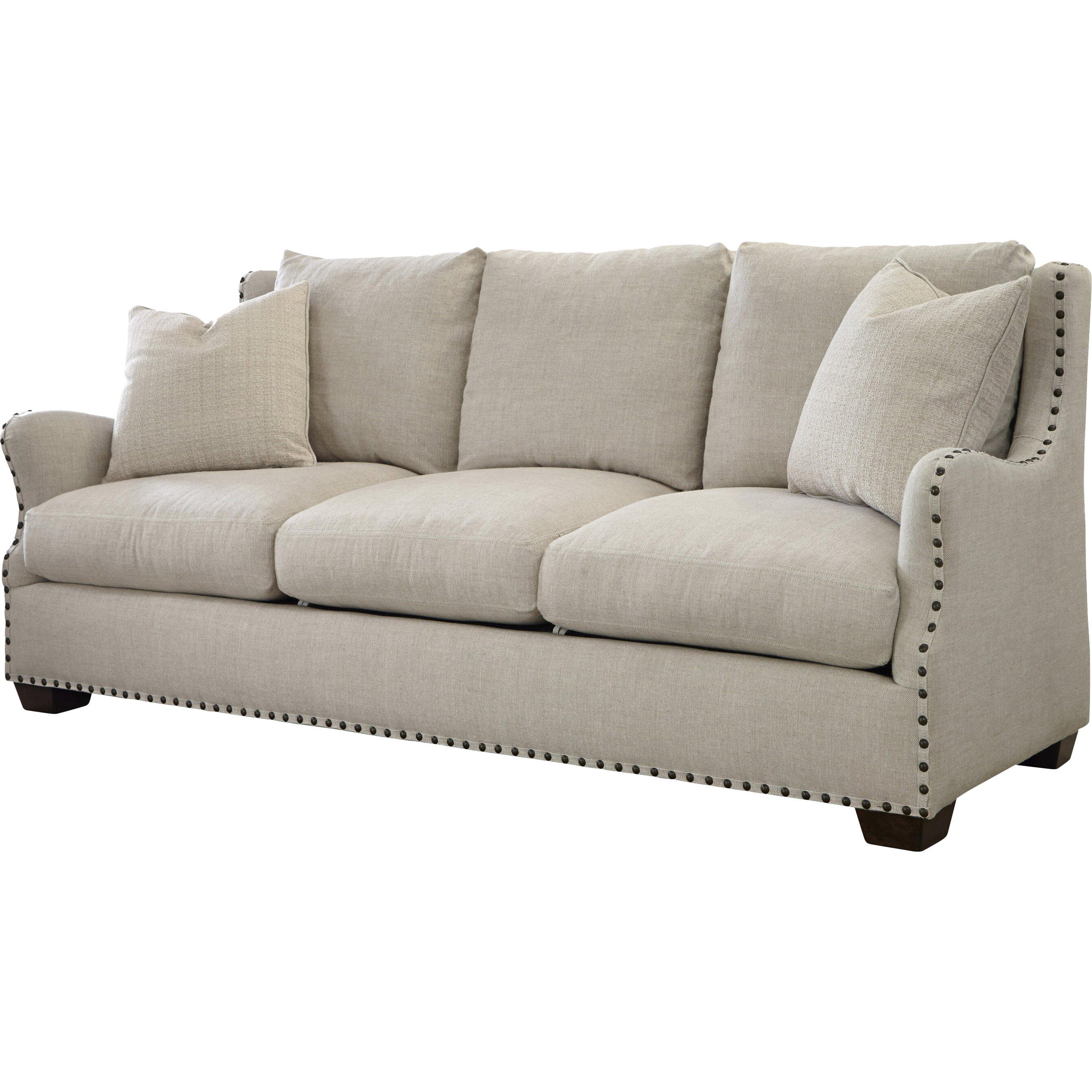 Canora grey wythe sofa wayfair for Gray sectional sofa wayfair