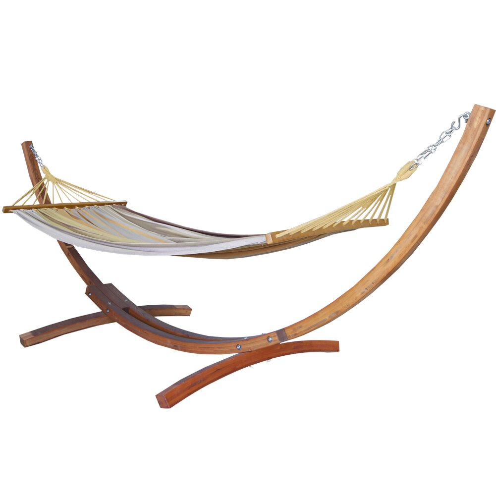 Backyard Hammock Reviews : Prime Garden Hammock with Stand & Reviews  Wayfair