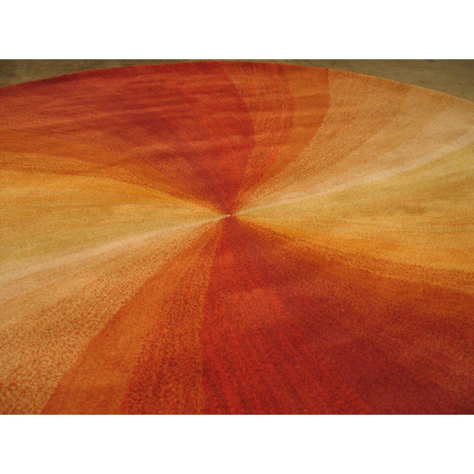 The Conestoga Trading Co. Lenz Red/Orange Area Rug