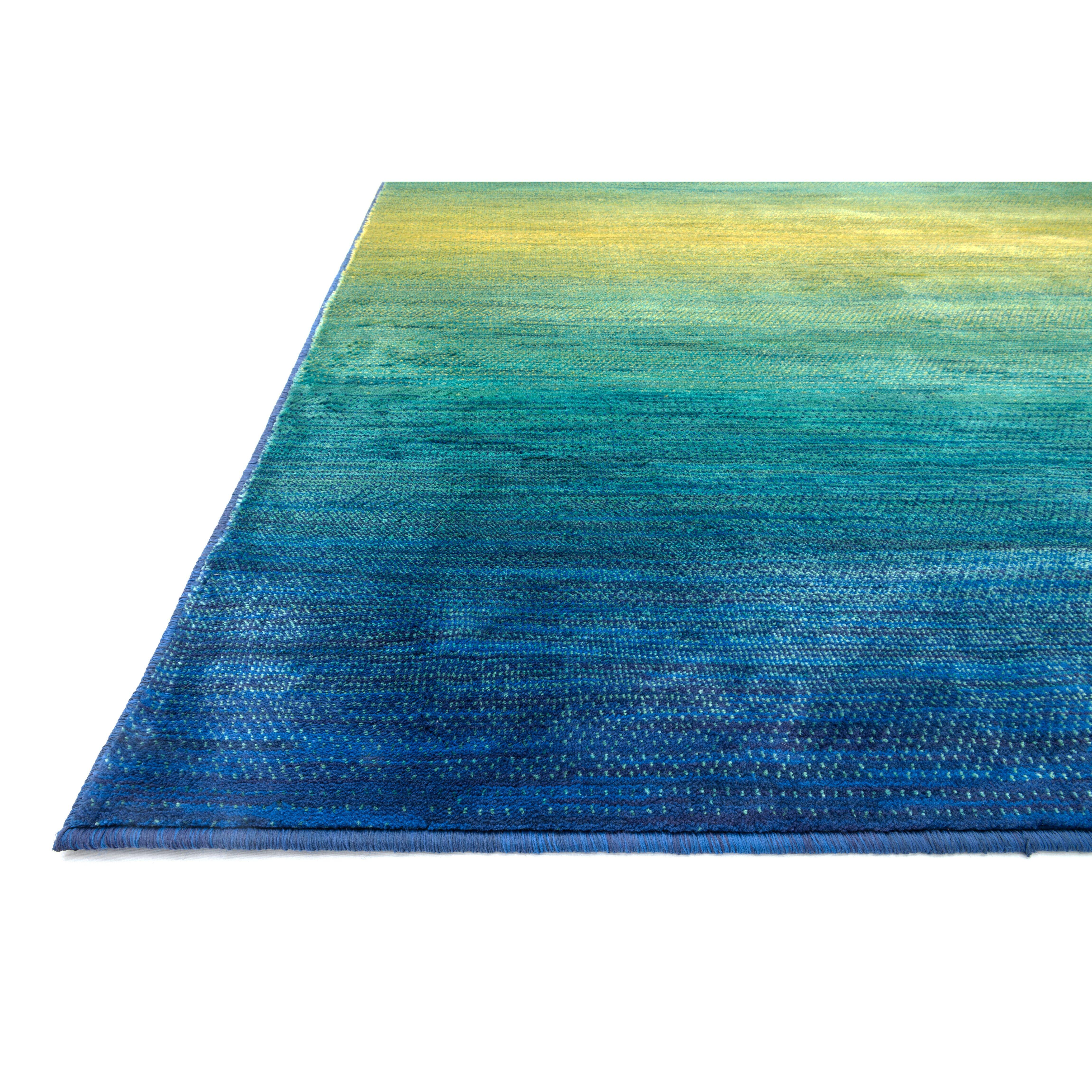 The Conestoga Trading Co. Blue/Green Area Rug & Reviews