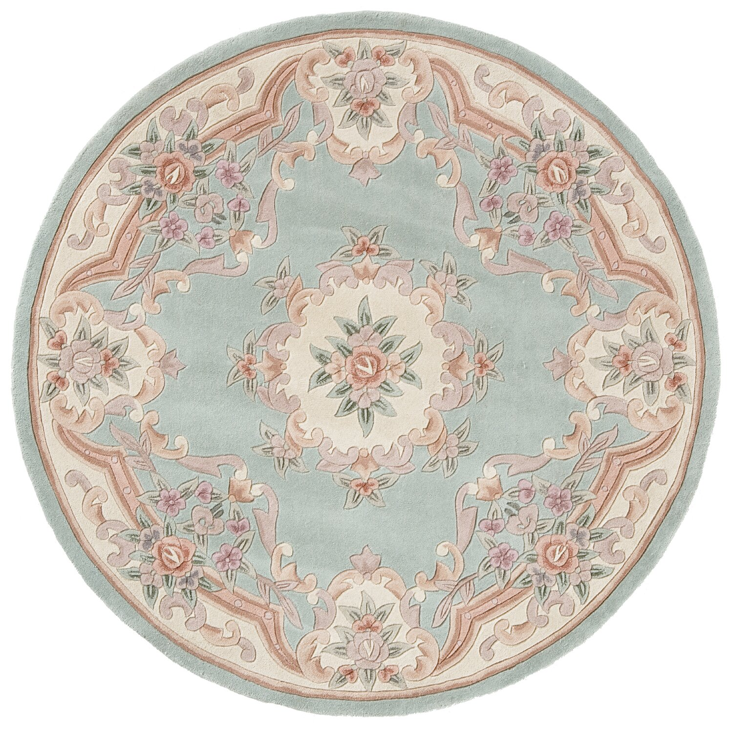 The Conestoga Trading Co. Hand-Tufted Light Green Oriental