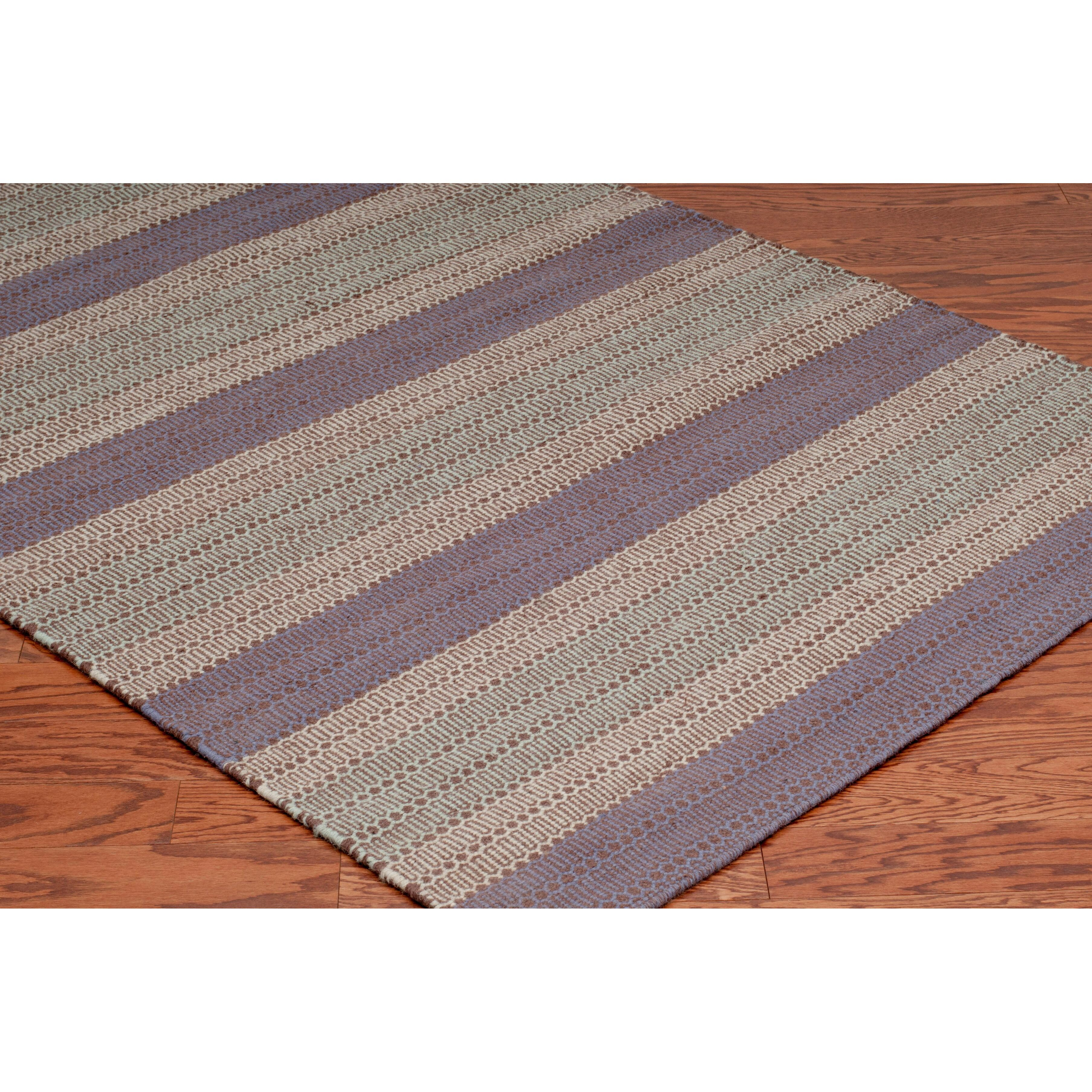 The conestoga trading co hand woven plum area rug for The rug company rugs