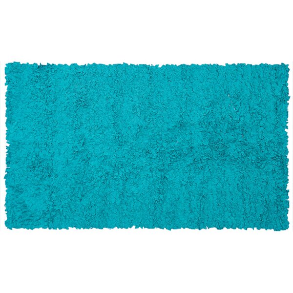 The Conestoga Trading Co. Handmade Teal Area Rug & Reviews